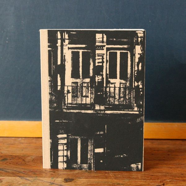 Notebook - Carnet de note - Cahier sérigraphié - Carnet de dessin - Architecture
