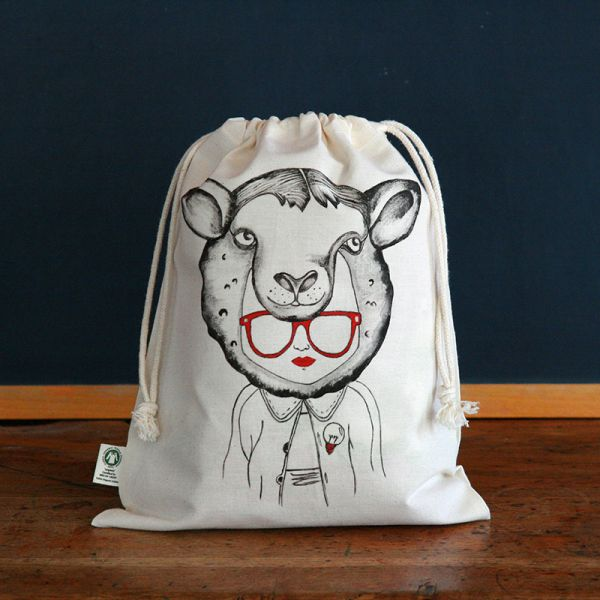 Pouch - Child snack bag - Sheep
